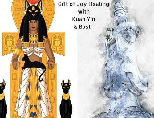 Gift of Joy Energy Healing with Kuan Yin and Bast