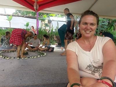 Me at Sacred Intimacy Workshop - Bali Spirit Festival